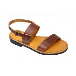 Hommes Cuir Pelerin Chaussure Cuir Pelerin Sandales Chaussure odBCerx
