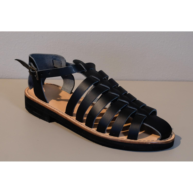 e101334d7f615 Sandale en cuir Jéricho homme, fabriquée en France