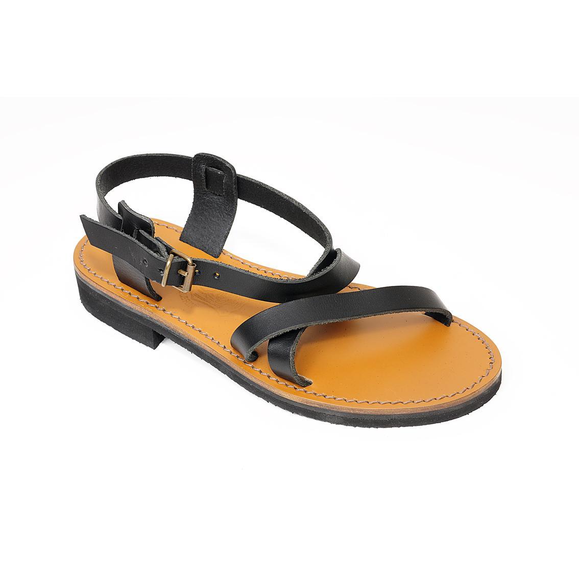 51a21d424501d Sandale en cuir Corinthe homme, fabriquée en France