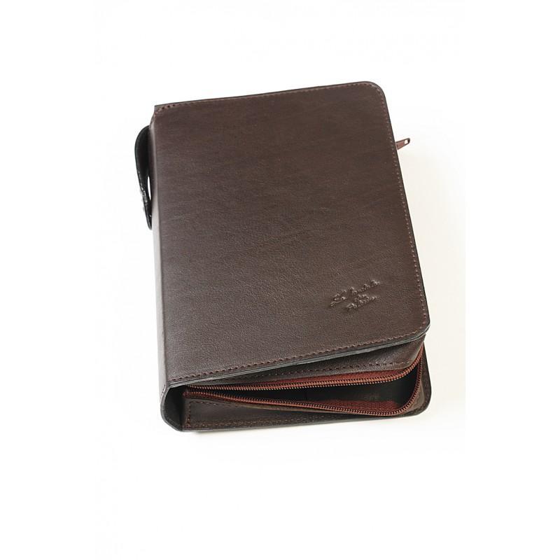 628ab3657f148 Etui livre en cuir, fabriqué en France